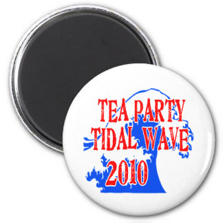TEA PARTY TIDAL WAVE 2010 MAGNET