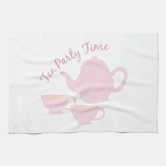 Tea Party Time Kitchen Towels