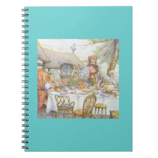 Tea Party Time Spiral Notebook