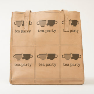 tea party tote
