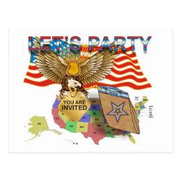 Tea-Party-Version-1 Postcard