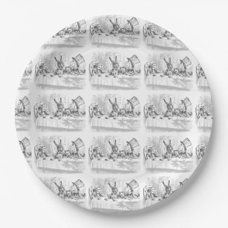 Tea Party Vintage Alice in Wonderland Paper Plates