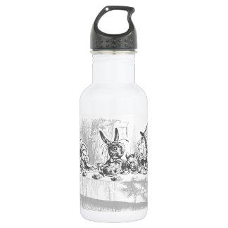 Tea Party Vintage Alice in Wonderland Water Bottle