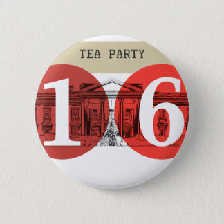 Tea Party White House 2016 Pinback Button