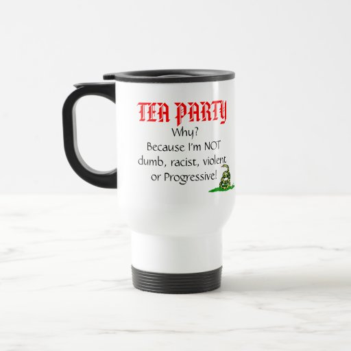 Tea Party, Why? Coffee Mugs
