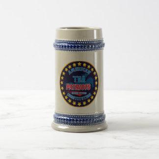 Tea Patriots Beer Stein
