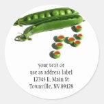 Tea Peas - Peas in a Pod with Tea Pea Cups Sticker