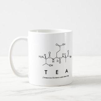 Tea peptide name mug