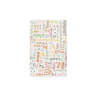 Tea Pocket Moleskine Notebook