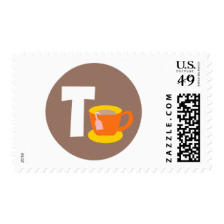tea postage stamps