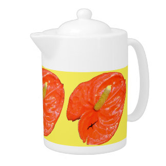 Tea Pot - Chinese Lantern