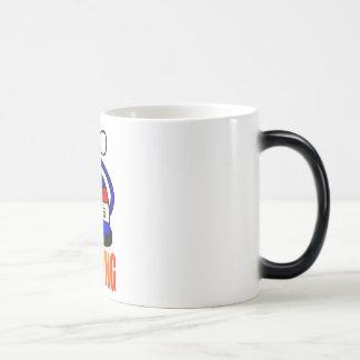 Tea pot is boiling - Tea Party Magic Mug
