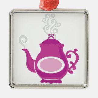 Tea Pot Metal Ornament