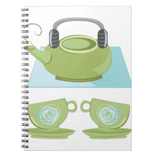 Tea Pot Notebook