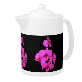 Tea Pot - Orchid