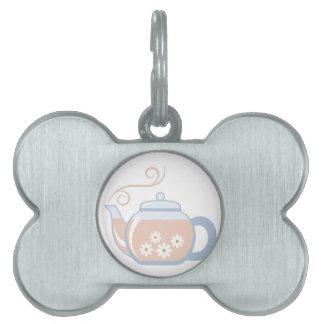 Tea Pot Pet Tag