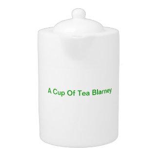Tea Pot-Porcelin