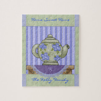 Tea Pot Quilt Block Boxed Puzzle