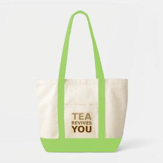 Tea Revives You! Impulse Tote Bag