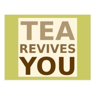 Tea Revives You! Postcard