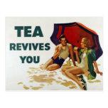 Tea Revives You Postcards