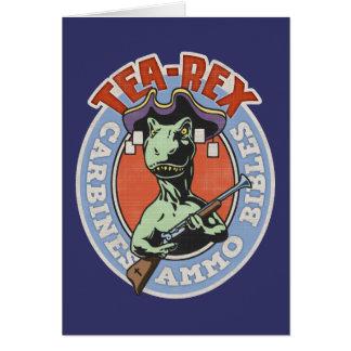 Tea-Rex Card