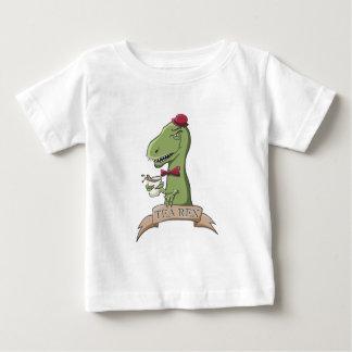 Tea Rex Dinosaur Baby T-Shirt