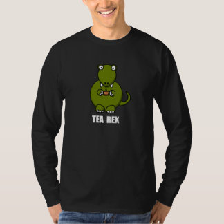 Tea Rex Dinosaur T Shirt