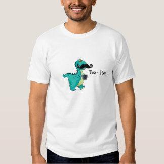 Tea- Rex Funny Dinosaur Cartoon Innuendo Tee Shirt