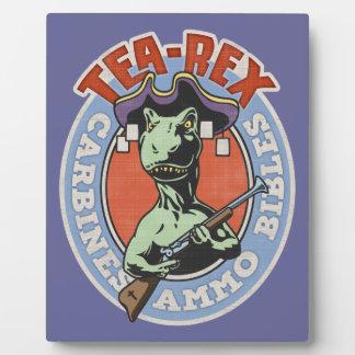 Tea-Rex Plaque