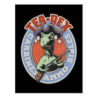 Tea-Rex Postcard