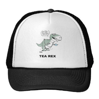 Tea Rex tea shirt Trucker Hat