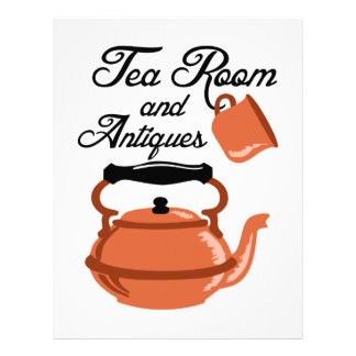 Tea Room Antiques Letterhead