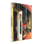 Tea Room in SoNo Norwalk, CT Stretched Canvas Prints