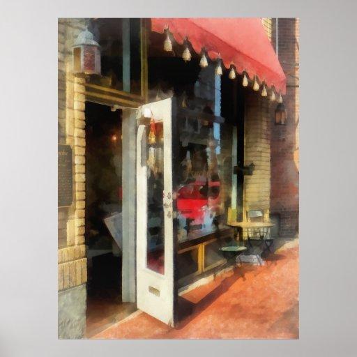 Tea Room in SoNo Norwalk, CT Poster