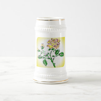 Tea Rose Beer Stein