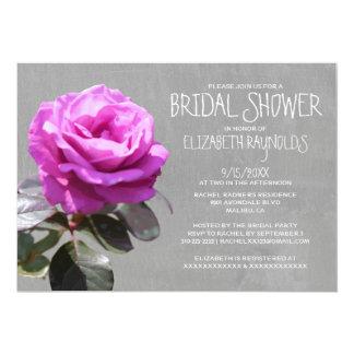 Tea Rose Bridal Shower Invitations Custom Invitations