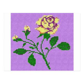 Tea Rose Postcard