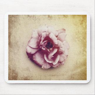 Tea Rose Vintage Photograph Mouse Pad