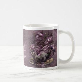 Tea & Roses Art Mug