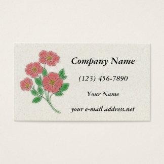 Tea Roses Business Card