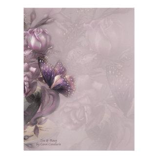 Tea & Roses Letterhead