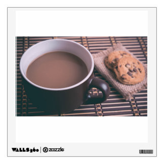 Tea served with cookies room graphic
