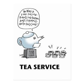 Tea Service card