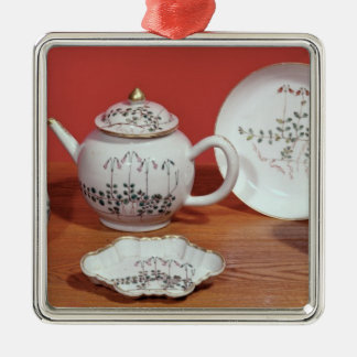 Tea service presented to Carl Linnaeus Metal Ornament