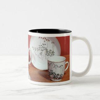 Tea service presented to Carl Linnaeus Two-Tone Coffee Mug