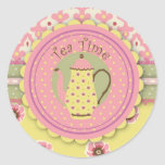 Tea Service Sticker