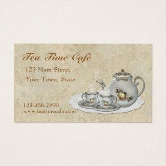 Tea Set Business Card