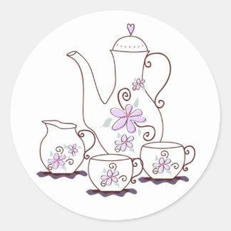 Tea Set Stickers