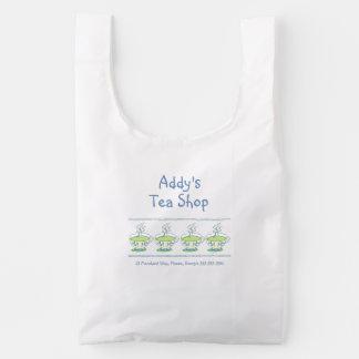Tea Shop Reusable Bag